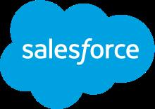 セールスフォースドットコムのロゴ