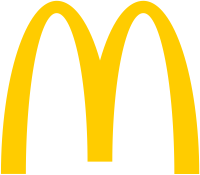 マクドナルドのロゴ