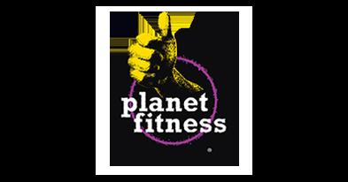 プラネット フィットネス Aのロゴ