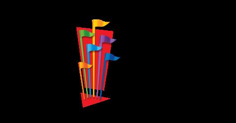 シックス フラッグズ エンターテインメントのロゴ